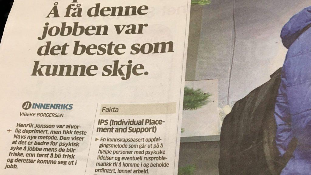 bilde fra avis